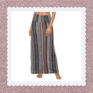 Dresses & Skirts - BOHO Striped Maxi Skirt